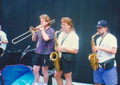 10K Maniacs Horns: Scott Burrows Trombone Tommy LaBella Alto Sax