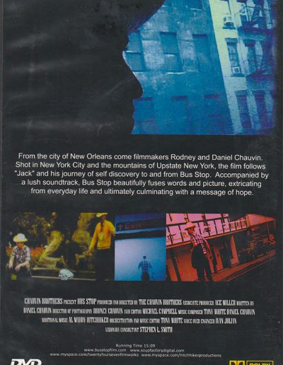 Bus Stop Back Cover DVD