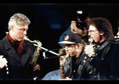 Tony with Bill Clinton