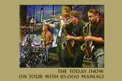 Tony w/ 10,000 Maniacs Today Show